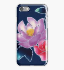japanese fabric 3 - scanogram iPhone Case/Skin