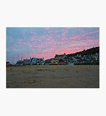 Lyme Regis Sunset Photographic Print
