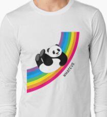 Happy Rainbow Panda Long Sleeve T-Shirt