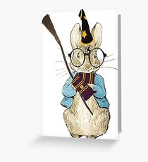 Potter Bunny Greeting Card