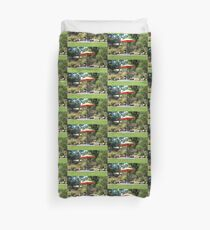 Winery Seating Duvet Cover