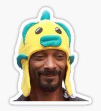Pegatina Snoop Fishh