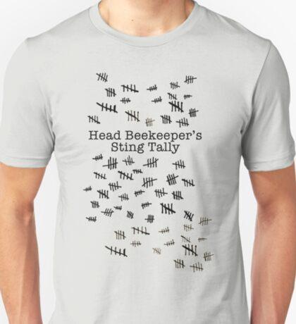 Head Beekeeper's Sting Tally T-Shirt