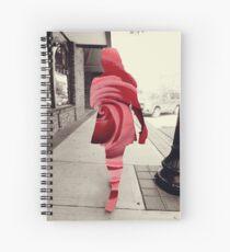 Floral Seduction Photography Design Spiral Notebook