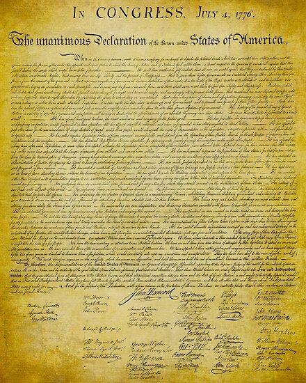 Declaration of Independence von LibertyManiacs
