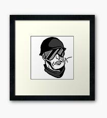 TFC Demoman/Greg Framed Print