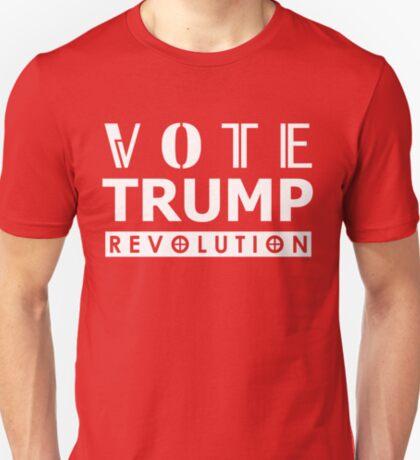 Vote Trump Wear Red To The Polls 2016 Revolution T-Shirt