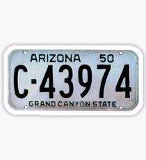 The Grand Canyon State Sticker