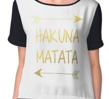 Hakuna Matata Chiffon Top