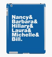 First Ladies Helvetica iPad Case/Skin