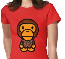 baby milo bape  Womens Fitted T-Shirt