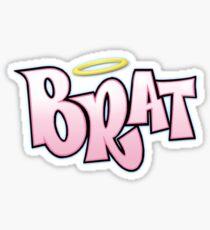 Brat Sticker