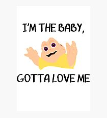 Baby Sinclair Photographic Print
