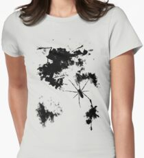 Grunge Spider Womens Fitted T-Shirt