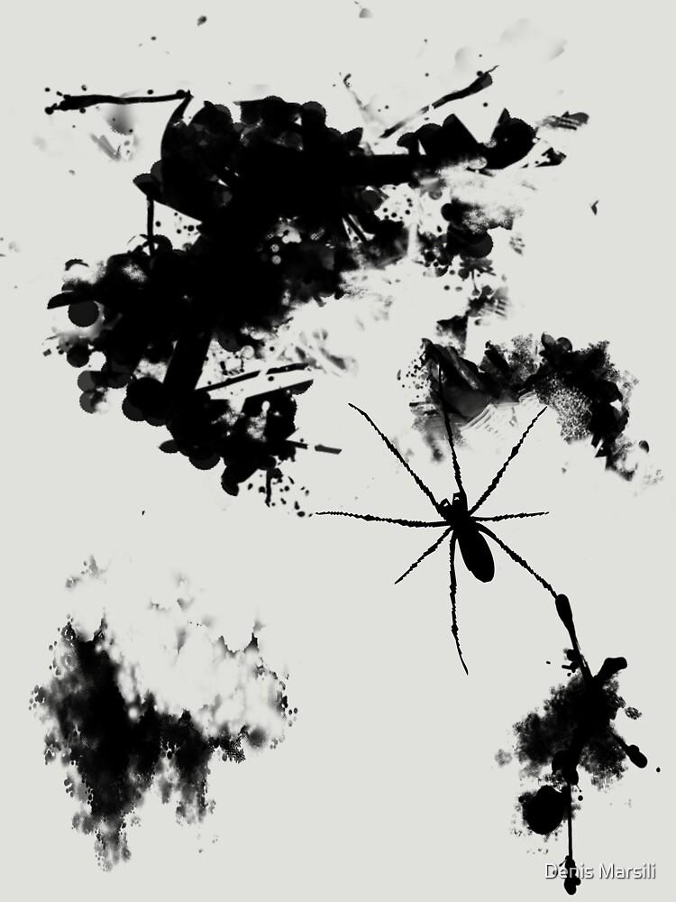 Grunge Spider by ddtk