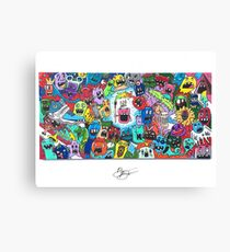 """""""I am Surrounded By Idiots"""" Prints Canvas Print"""