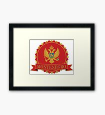 Montenegro - The Little Jewel of the Mediterranean Framed Print