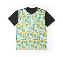 Mid-Century Tiki Graphic T-Shirt