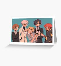 mystic messenger pals Greeting Card