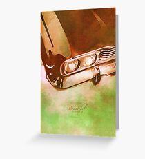 Classics Car IX Greeting Card