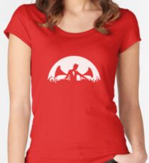 Let's Party Like It's... 1923! Full Moon Women's Fitted Scoop T-Shirt