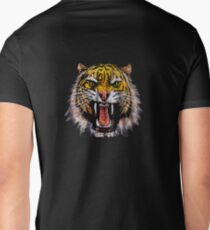 Tekken - Heihachi Tiger Mens V-Neck T-Shirt