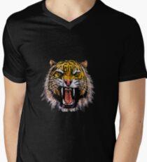 Tekken - Heihachi Tiger Men's V-Neck T-Shirt