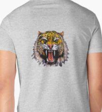 Tekken - Heihachi Tiger Mens V-Neck T-Shirt