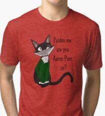 Aaron  Purr  Tri-blend T-Shirt