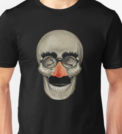 Died Laughing - Skull T-Shirt
