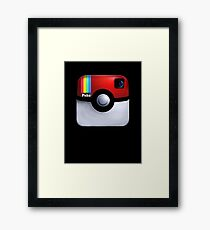 Pokegram - An Instagram & Pokemon Mash App Framed Print