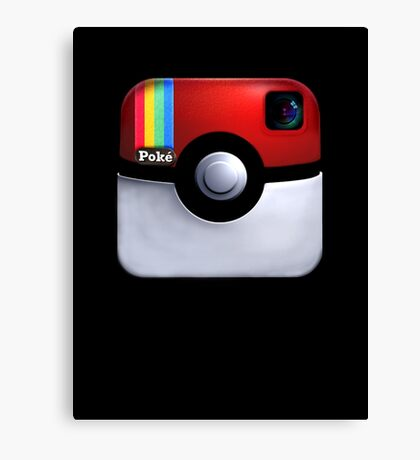 Pokegram - An Instagram & Pokemon Mash App Canvas Print