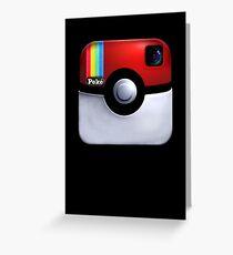 Pokegram - An Instagram & Pokemon Mash App Greeting Card