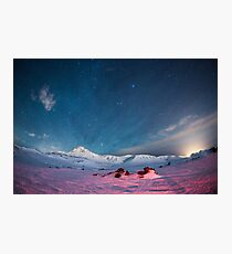 Starry Icelandic Night Sky  Photographic Print