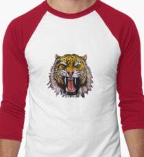 Tekken - Heihachi Mishima Style Tiger Men's Baseball ¾ T-Shirt