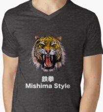 Tekken - Heihachi Mishima Style Tiger Men's V-Neck T-Shirt