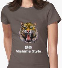 Tekken - Heihachi Mishima Style Tiger Women's Fitted T-Shirt