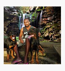 ๑۩۞۩๑ DEMIT AND HIS PRECIOUS DOGS  ๑۩۞۩๑ Photographic Print