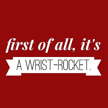 Wrist-Rocket- Stranger Things by theBibliophile