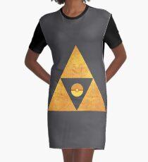 Triforce nintendo Graphic T-Shirt Dress