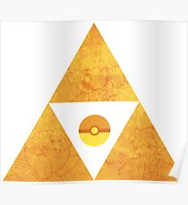 Triforce nintendo Poster
