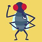 Friendly fly by stegopawrus