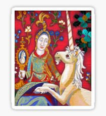 Lady & The Unicorn (La Vue) Sticker