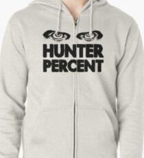 Hunter Percent (Light Version) Zipped Hoodie