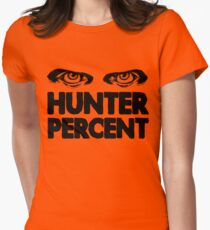 Hunter Percent (Light Version) Women's Fitted T-Shirt