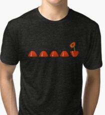 Devo Flower Tri-blend T-Shirt