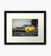 1969 Plymouth Roadrunner  Framed Print