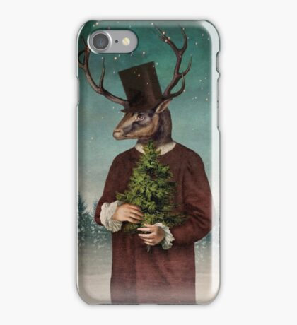 Mr Reindeer iPhone Case/Skin
