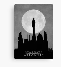 Stargate Atlantis - Night Sky Canvas Print