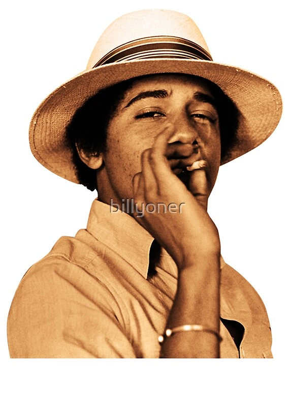 """""""young obama smoke classic"""" Posters by billyoner 